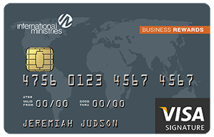 IM Visa Business Rewards Card