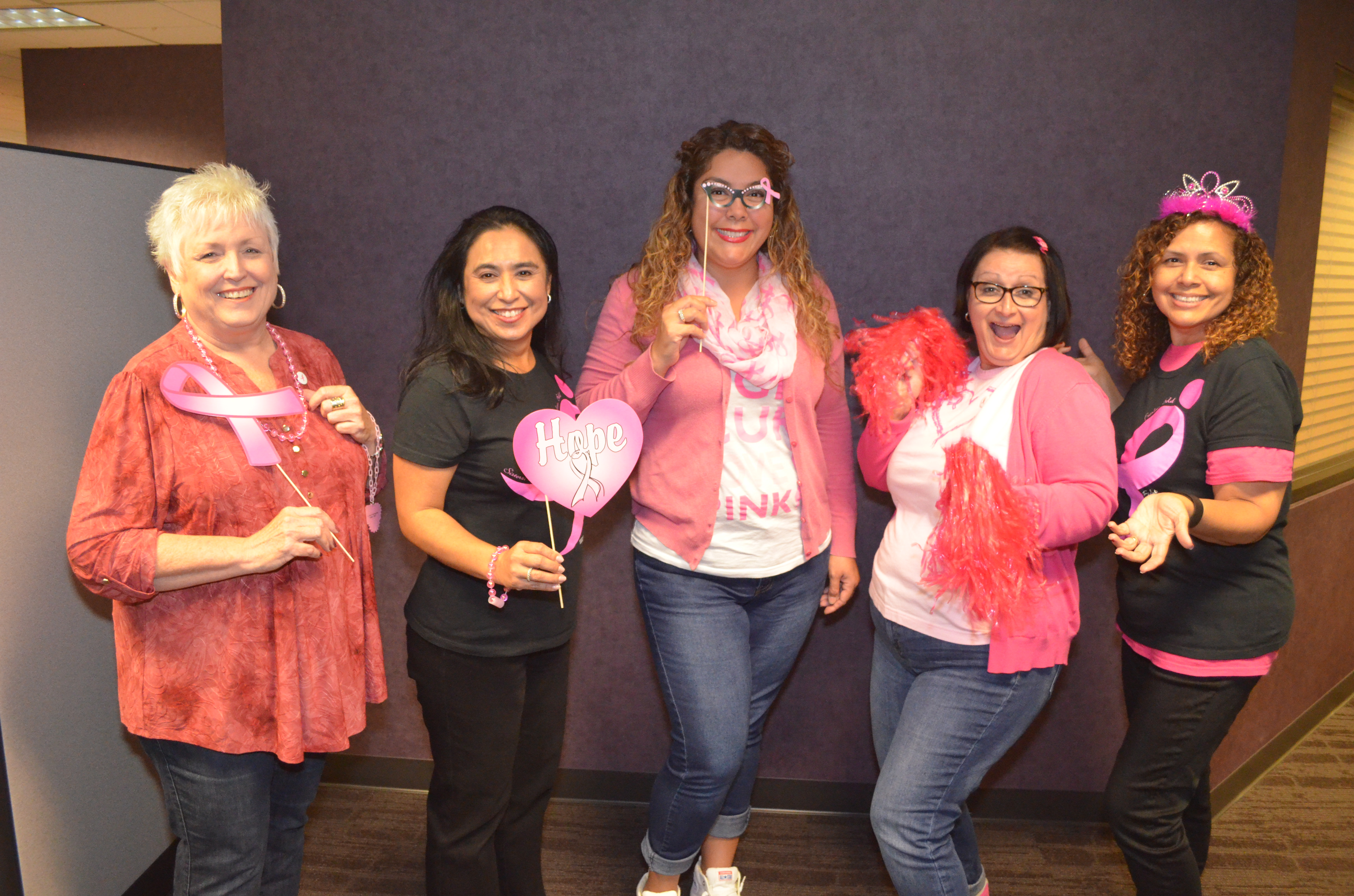 Pink Day San Dimas for Cancer Fundraiser